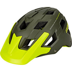 BBB Nanga BHE-54 Casco, matte green/neon yellow